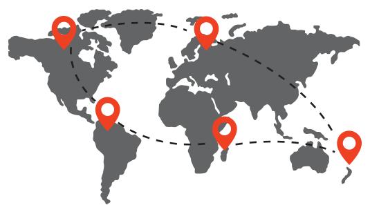 We Deliver Worldwide