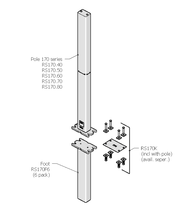170 product page header pic - Necklen Breakaway Poles